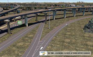 Design of BW8 Interchange | Drive 288